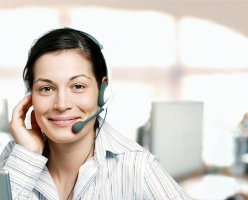 Telefonieren im Support & Service